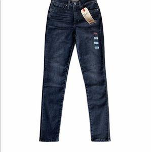 NEW♦️Levi's 721 Black High Rise Skinny Jeans Sz 27